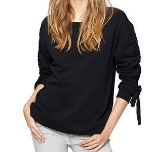 SANCTUARY Camden Ruched Sweatshirt S